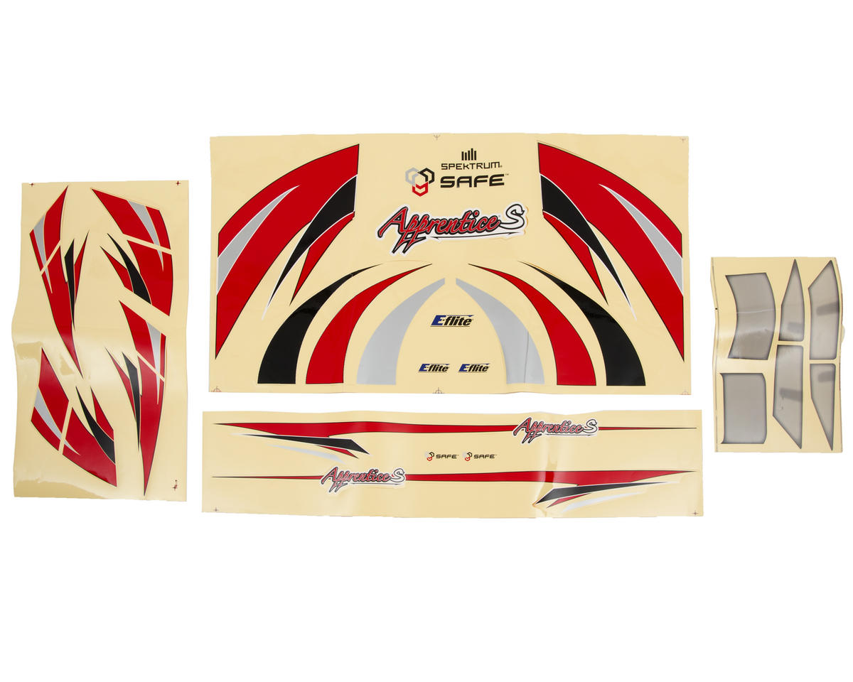 E-flite Apprentice S 15e Decal Set