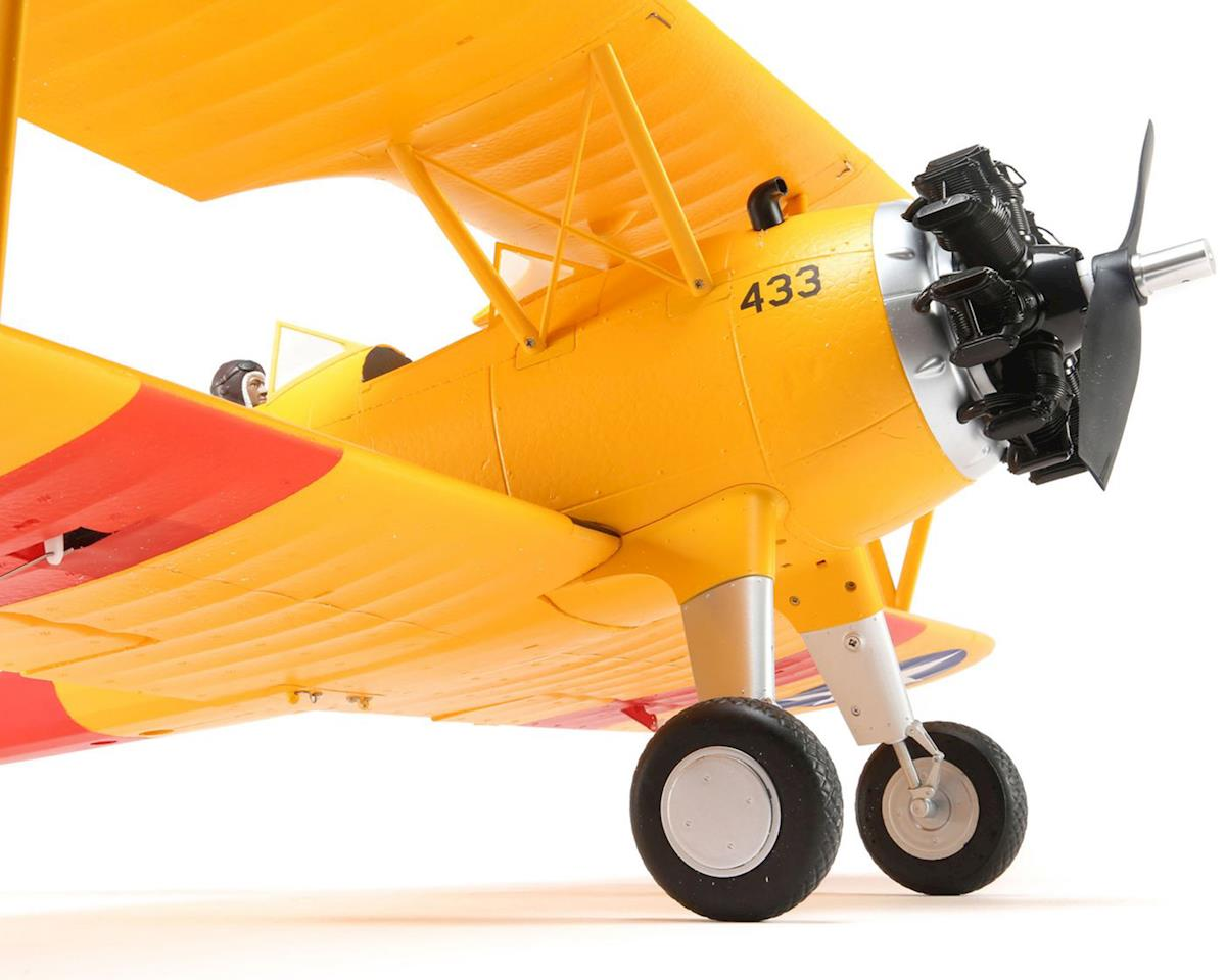 PT-17 1.1m Plug-N-Play Electric Biplane Airplane by E-flite