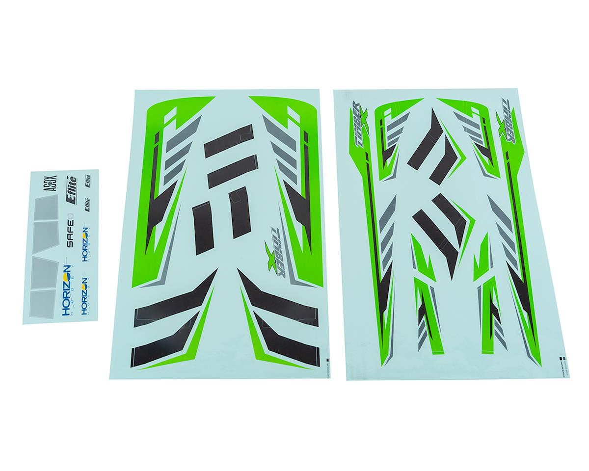 E-flite Timber X Decal Set
