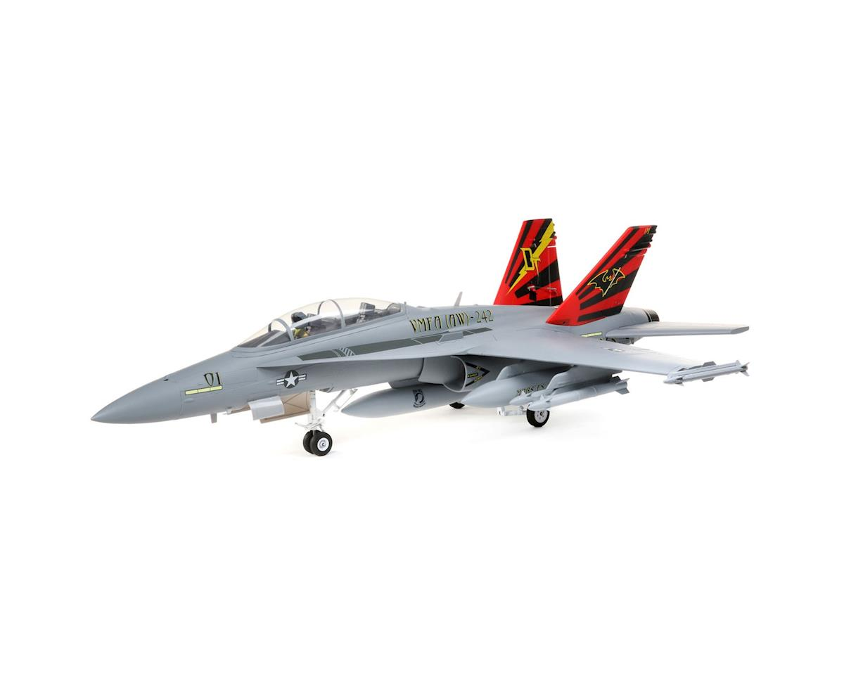 E-flite F-18 Hornet 80mm EDF BNF Basic Electric Ducted Fan Jet Airplane