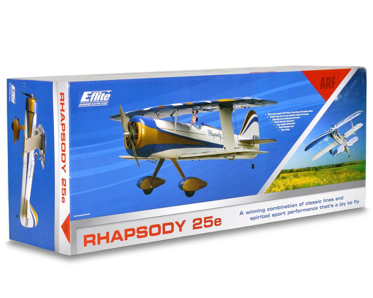 E-flite Rhapsody 25e ARF