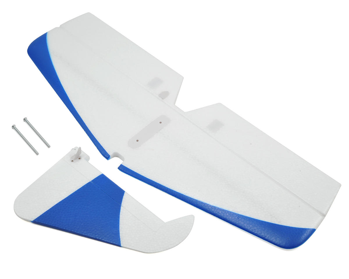 E-flite Horizontal Stabilizer & Rudder Set