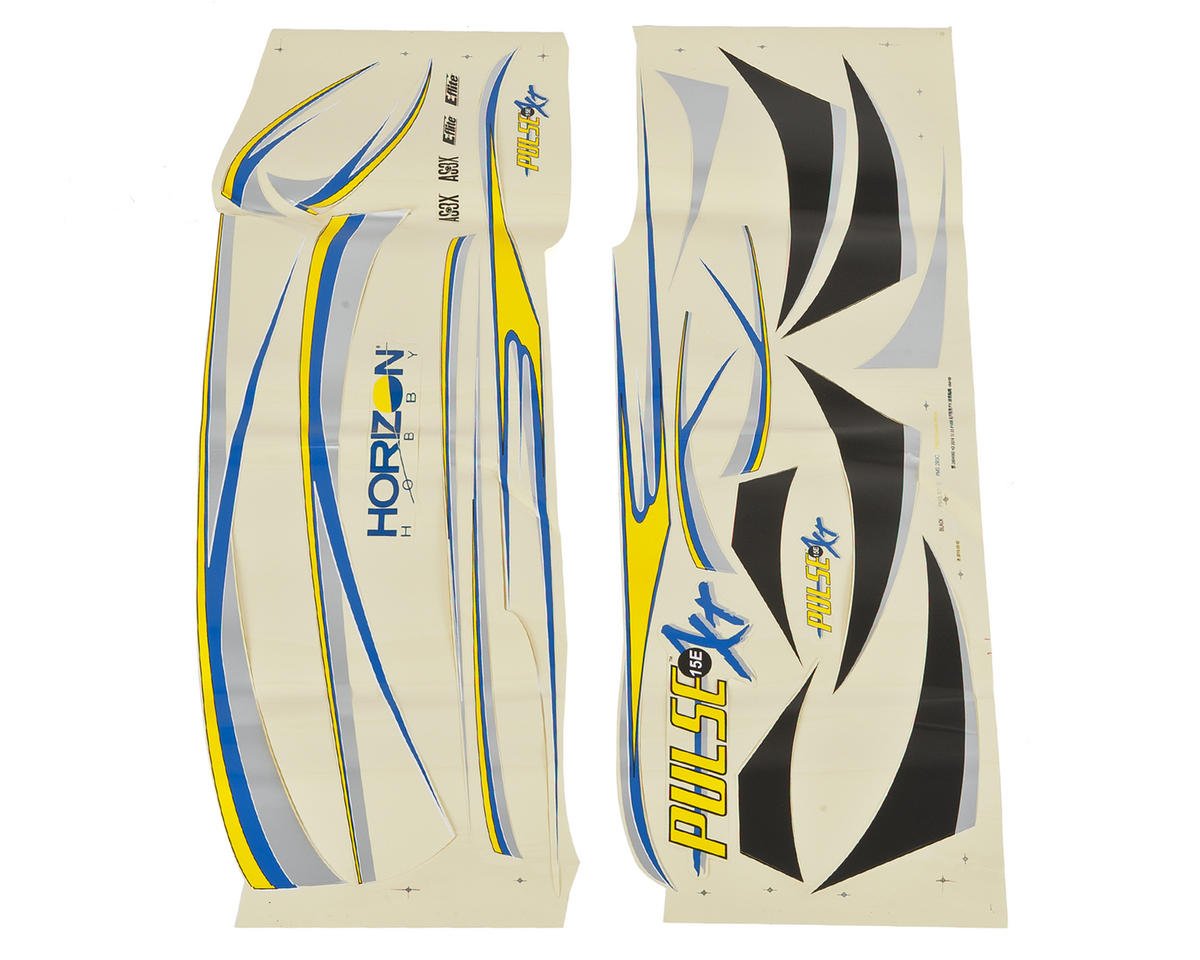E-flite Pulse 15e Decal Sheet