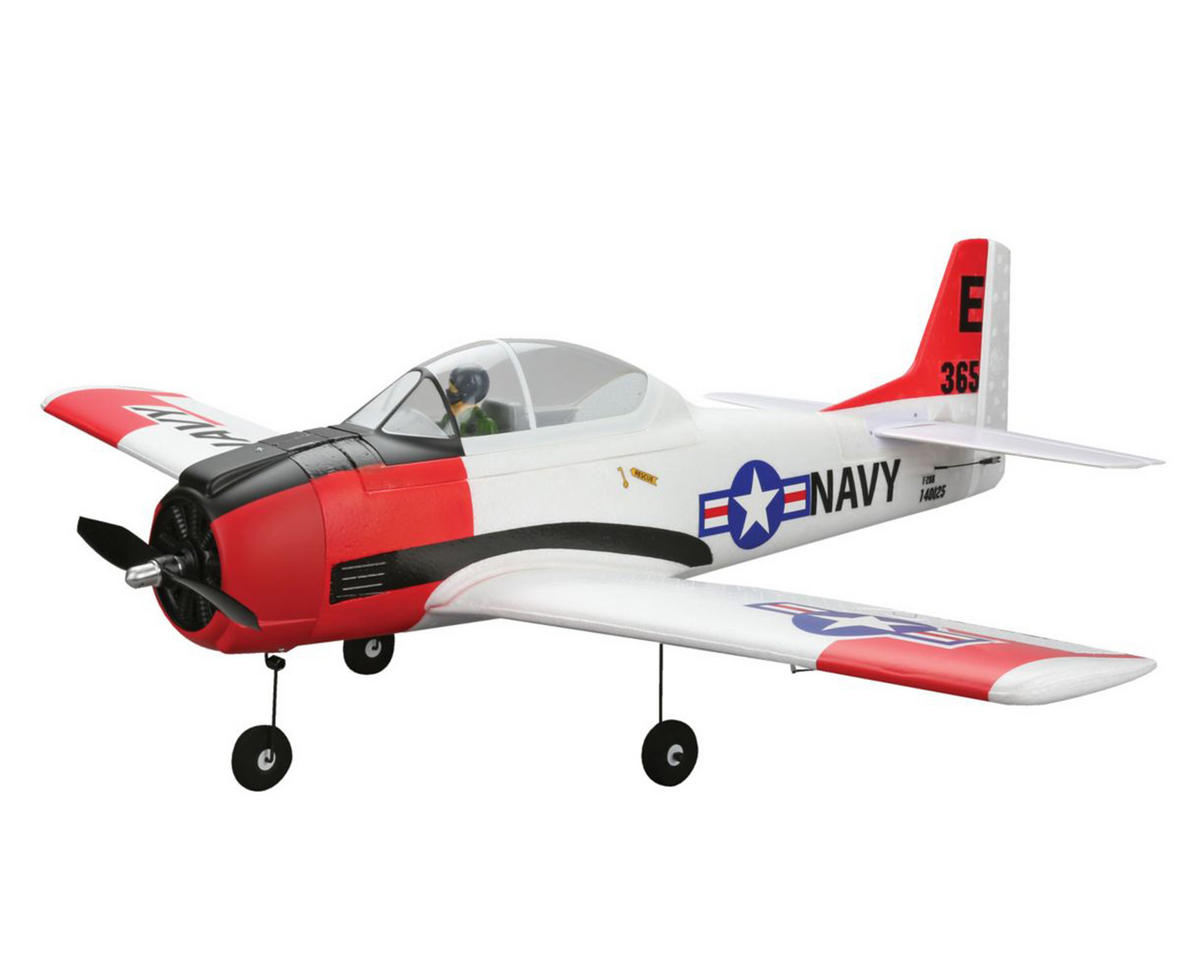 E-flite T-28 Trojan Bind-N-Fly Basic Park Flyer Electric Airplane