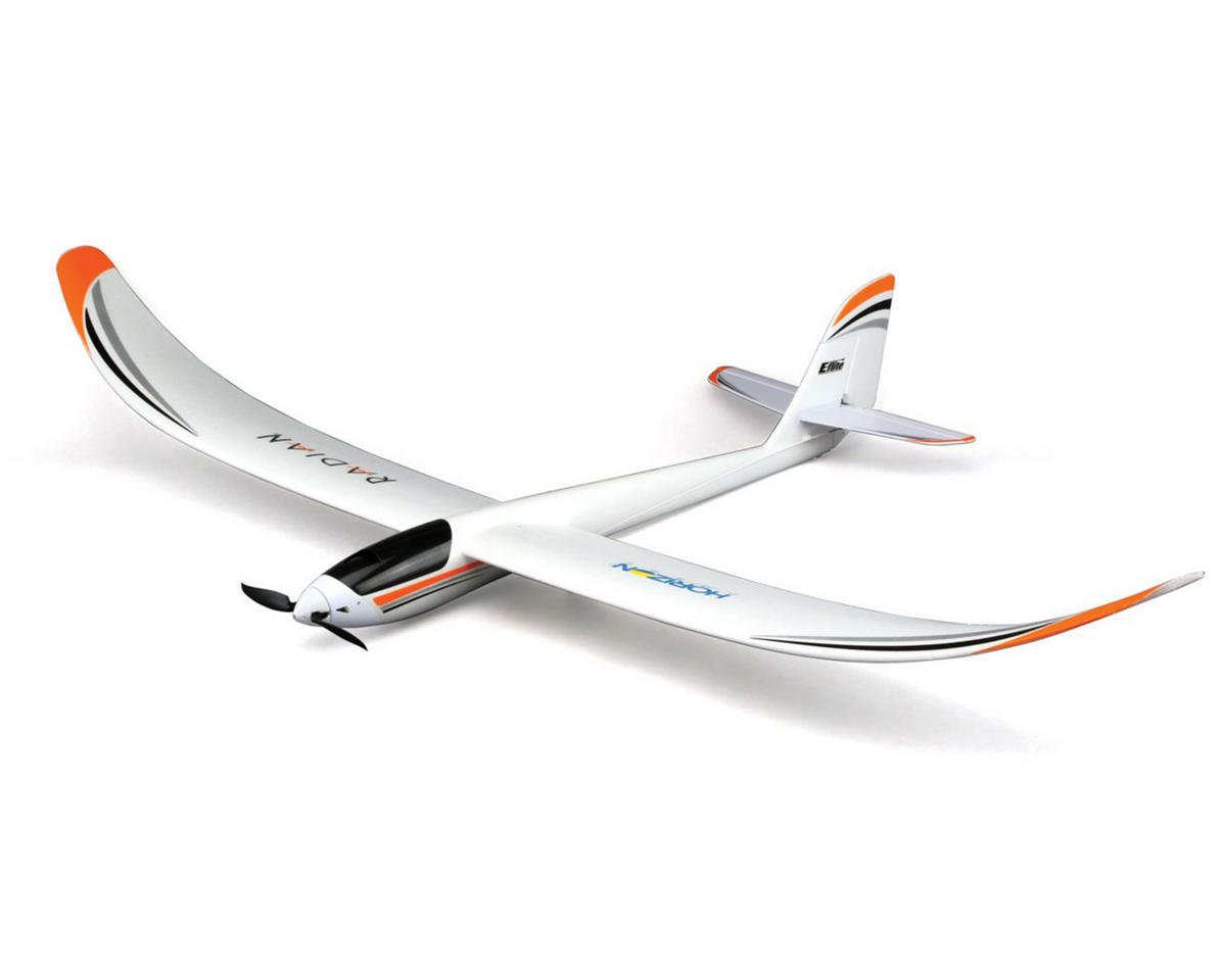 SCRATCH & DENT: E-flite Radian Glider Bind-N-Fly Basic Electric Airplane