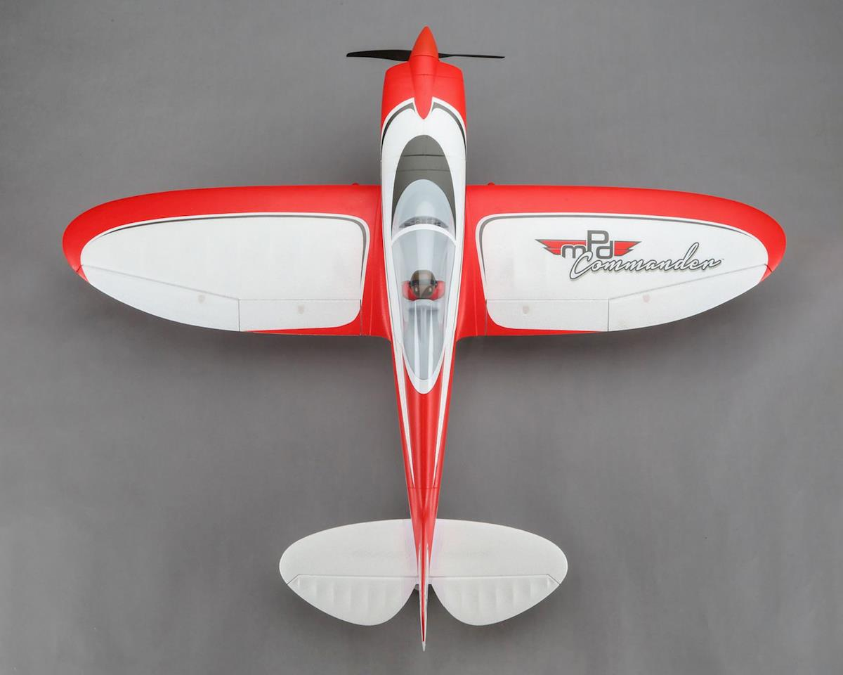 E-flite Commander mPd 1.4m BNF Basic Electric Airplane