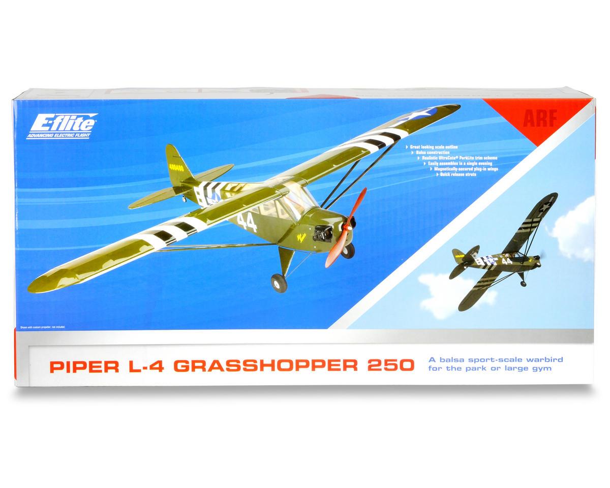 E-flite Piper L-4 Grasshopper 250 ARF