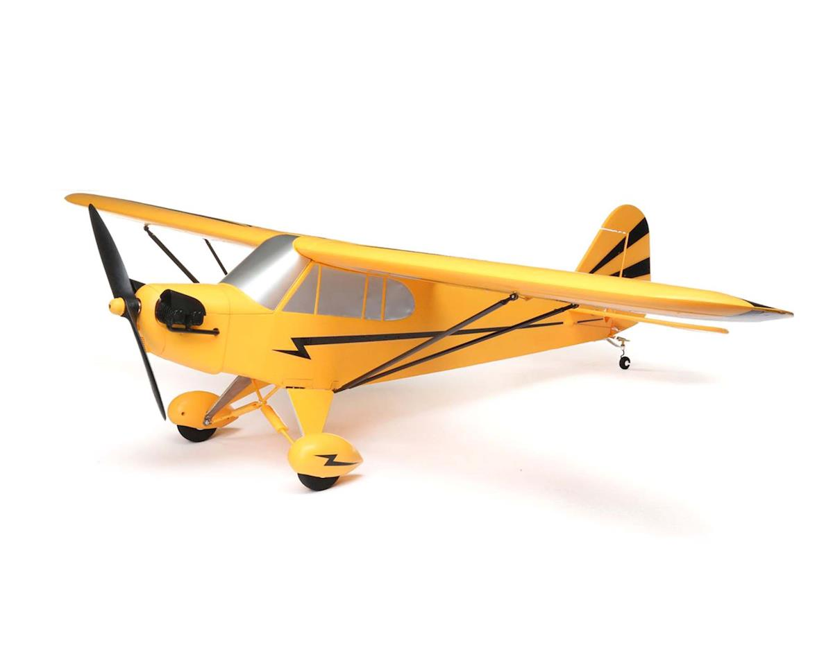 E-flite Clipped Wing Cub 1.2m Plug-N-Play Electric Airplane