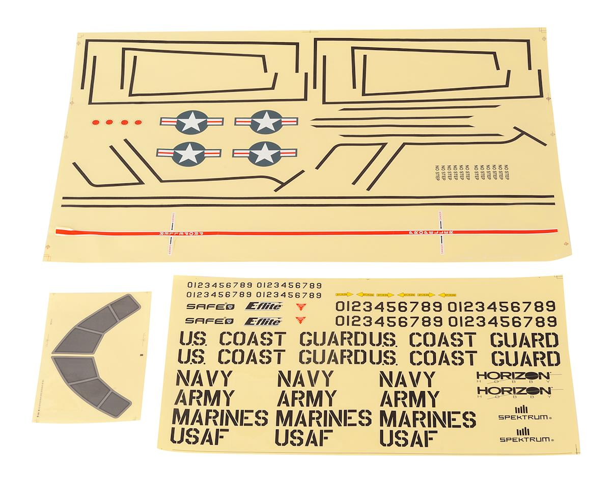 E-flite EC-1500 Cargo 1500 Decal Sheet