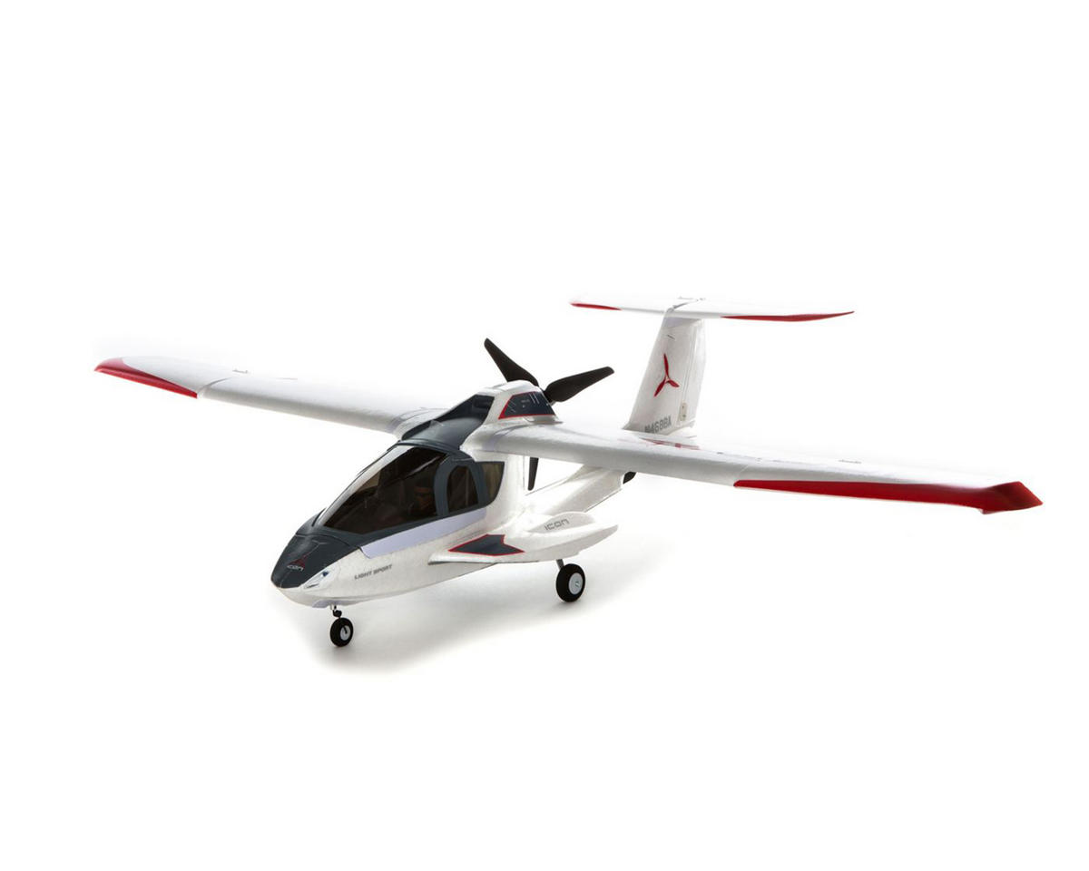 ICON A5 BNF Basic Electric Airplane w/AS3X