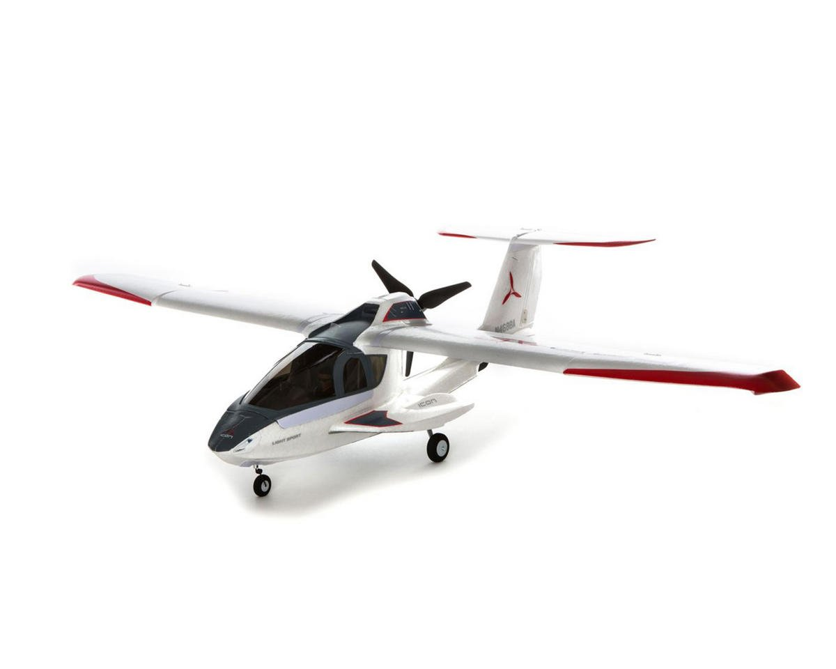ICON A5 Plug-N-Play Electric Airplane w/AS3X by E-flite