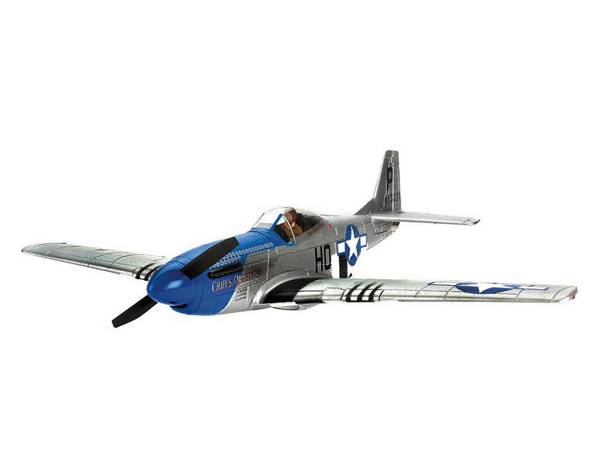 E-flite P-51D Mustang 280 Bind-N-Fly Basic Electric Airplane