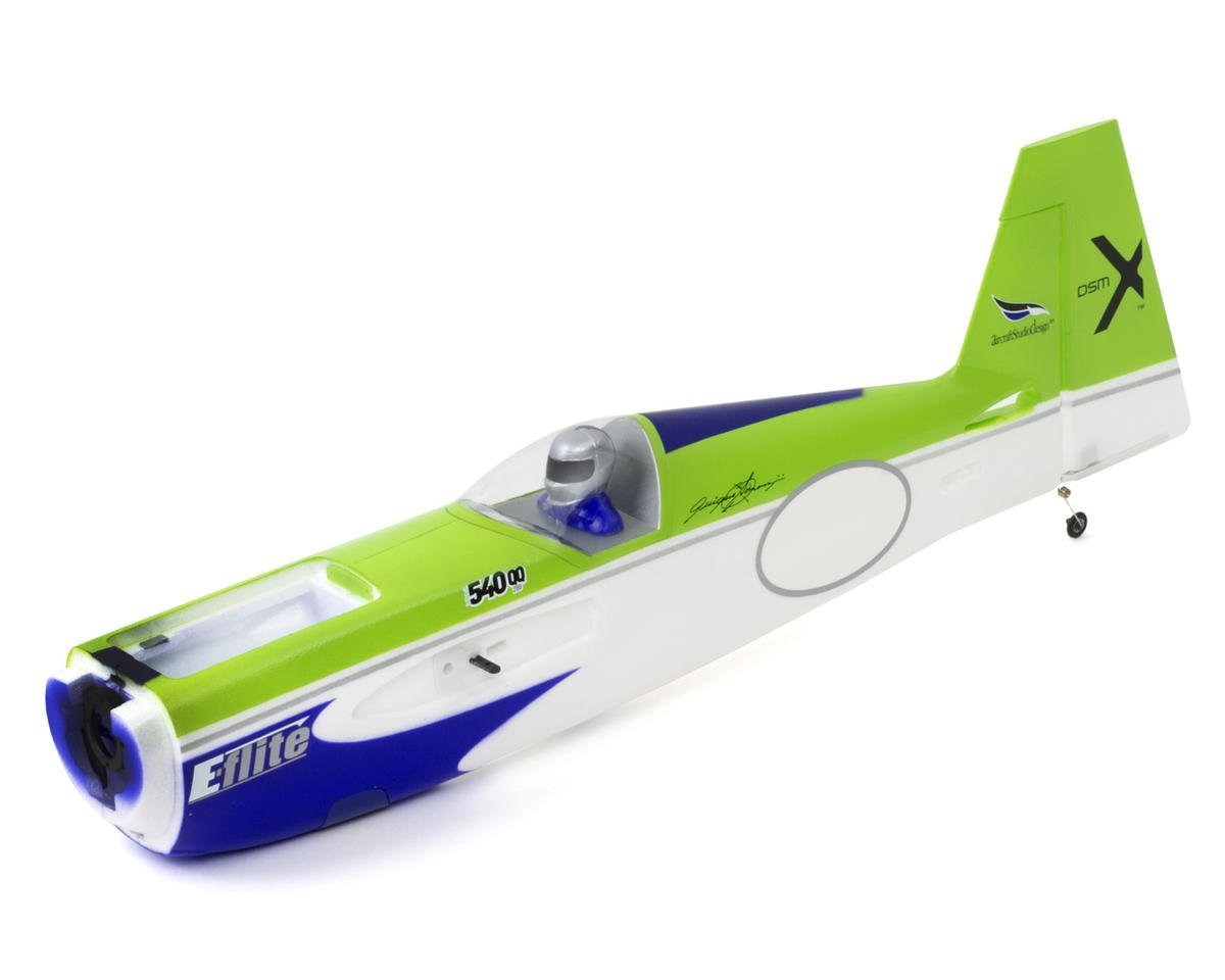 Fuselage with Rudder (Edge 540QQ) by E-flite