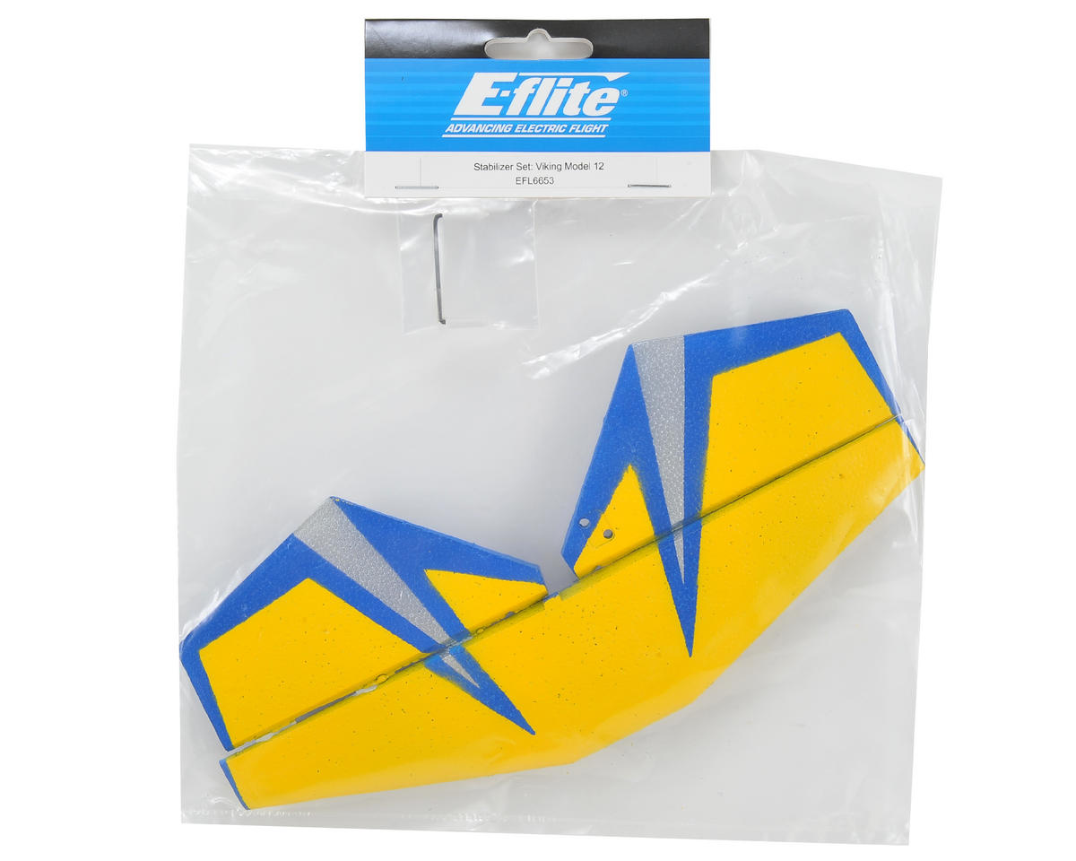 E-flite Stabilizer Set
