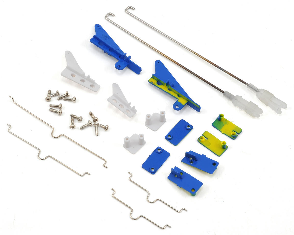 E-flite Viking Model 12 Pushrod & Control Horn Set