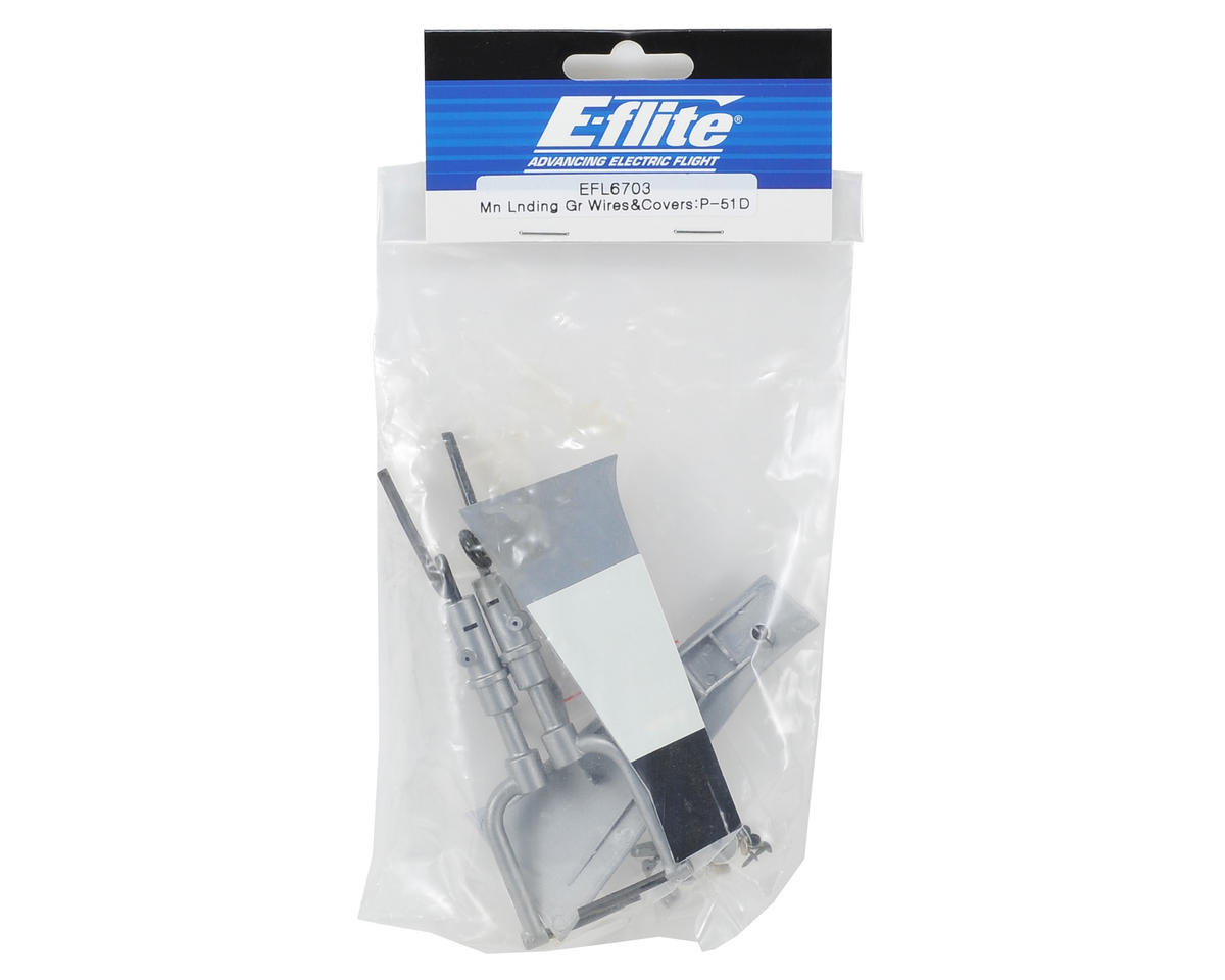 E-flite Main Landing Gear Wire & Cover Set