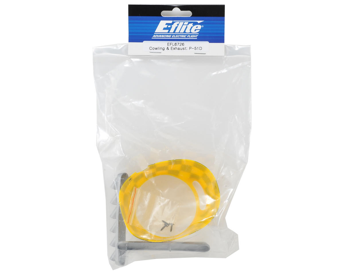 E-flite Cowling & Exhaust Set