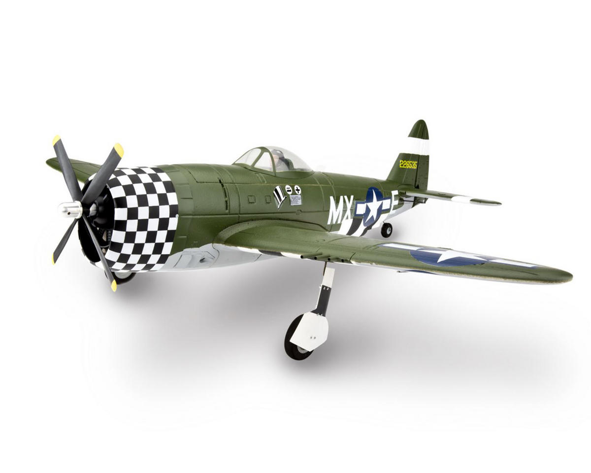 E-flite P-47D Thunderbolt Plug-N-Play Electric Airplane