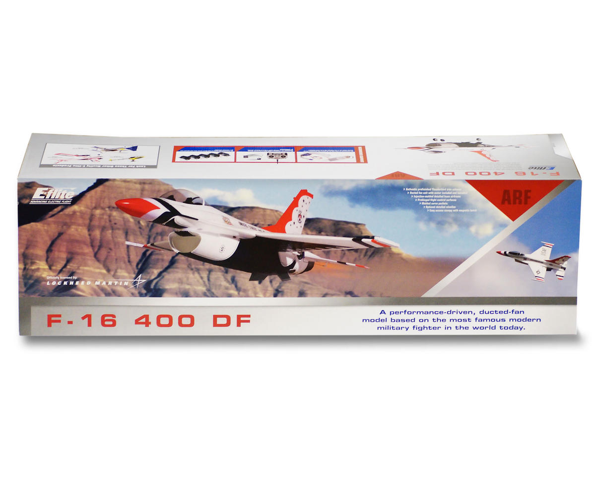 E-flite F-16 400 DF (Ducted Fan) ARF (No Motor/Fan Unit)