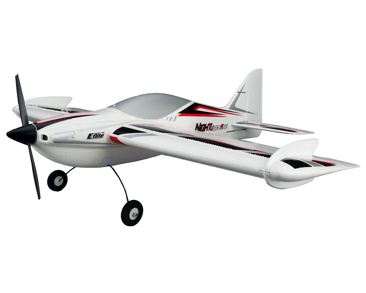 NIGHTvisionaire Bind-N-Fly Basic Electric Airplane by E-flite