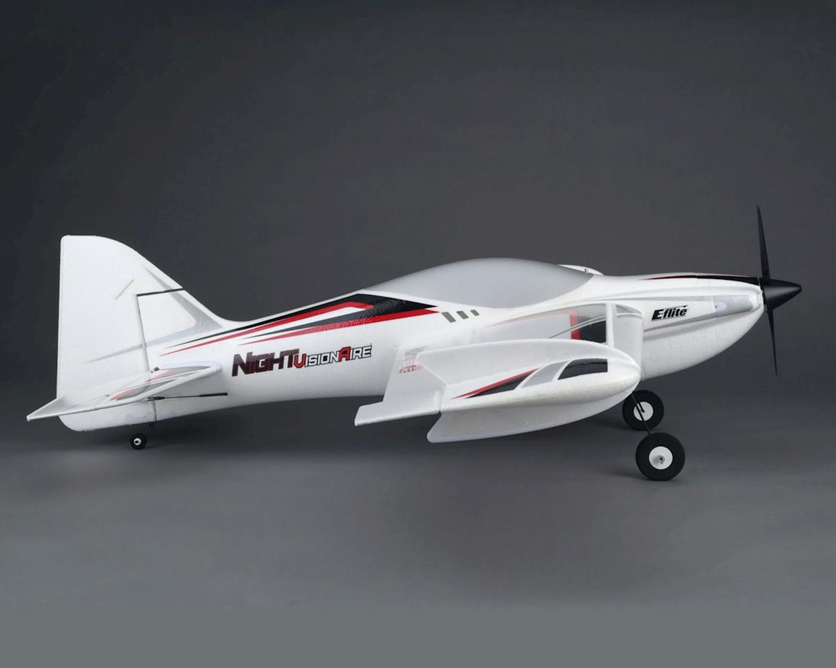 E-flite NIGHTvisionaire Bind-N-Fly Basic Electric Airplane