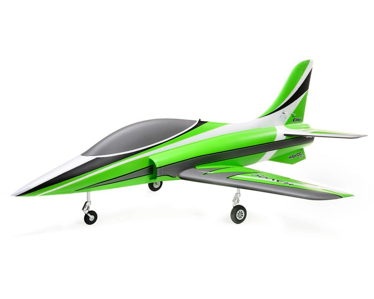E-flite HAVOC Xe 80mm EDF BNF Sport Electric Ducted Fan Jet Airplane  (1041mm) w/AS3X & SAFE