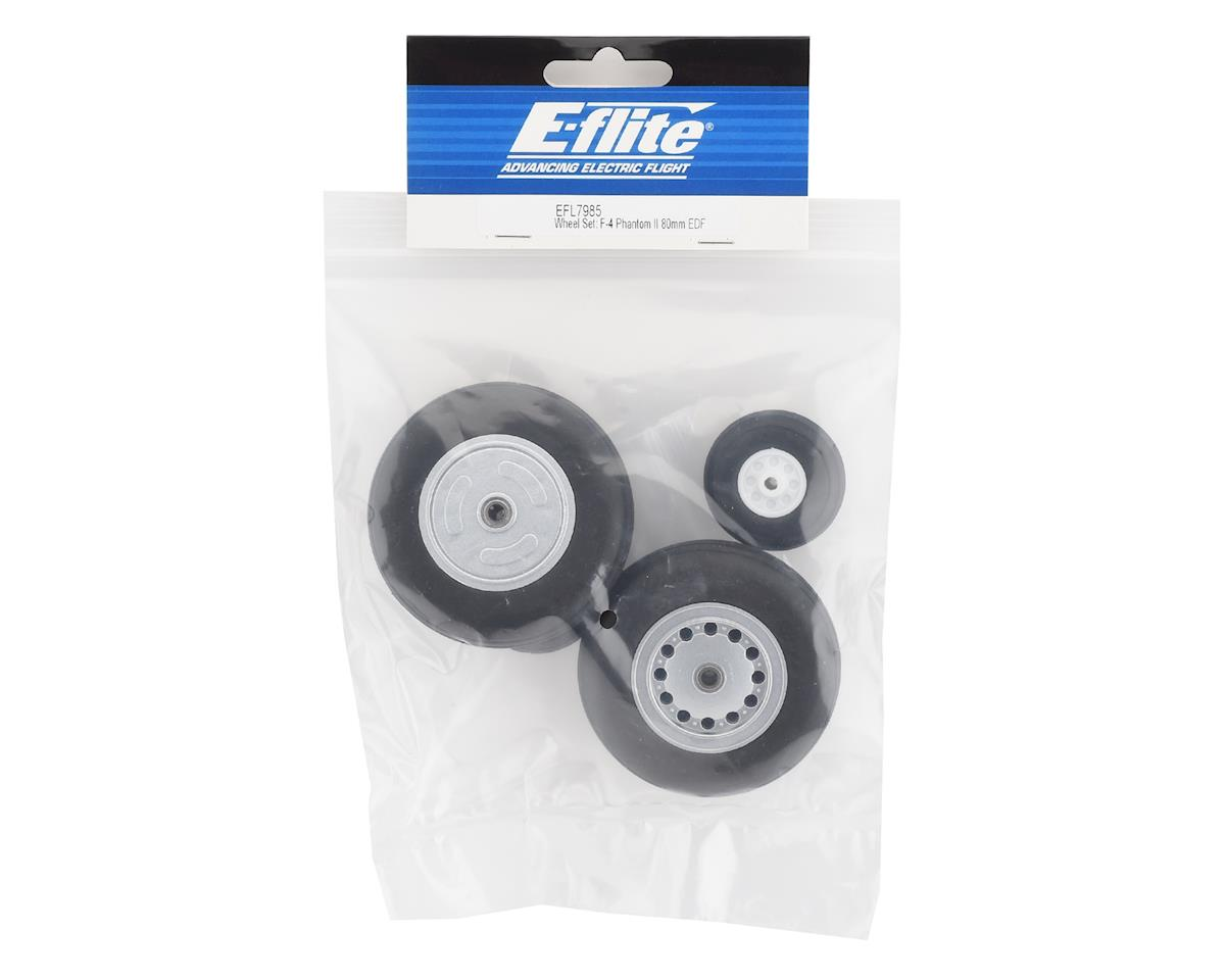 E-flite F-4 Phantom II 80mm Wheel Set