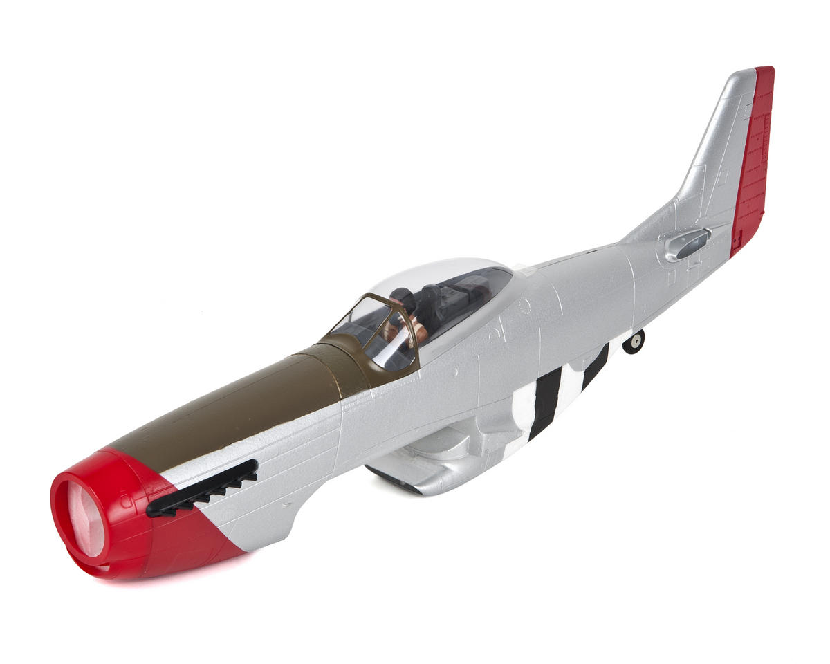 P-51D Mustang 1.2m P-51D Painted Fuselage w/Hatch by E-flite