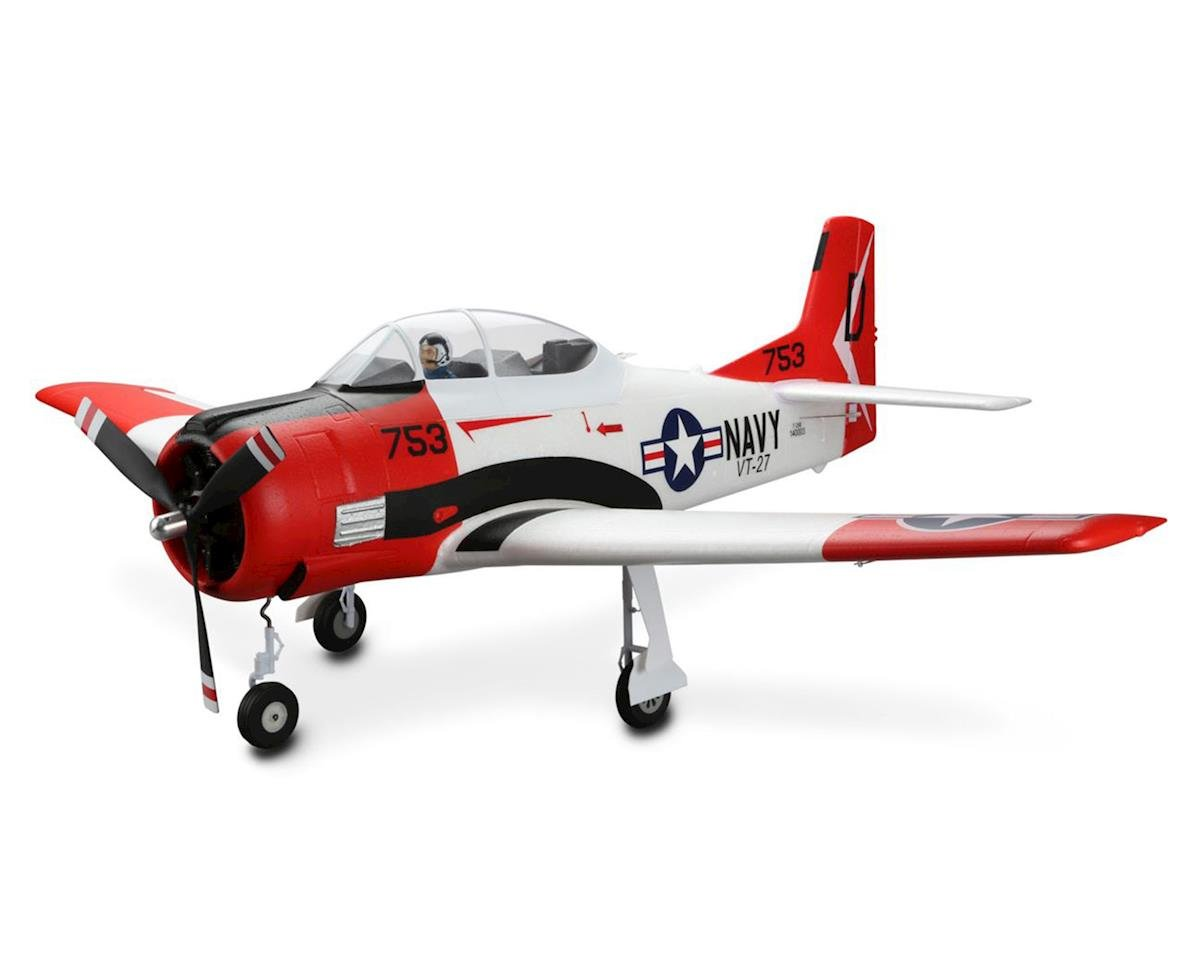 T-28 Trojan 1.2m Bind-N-Fly Basic Electric Airplane