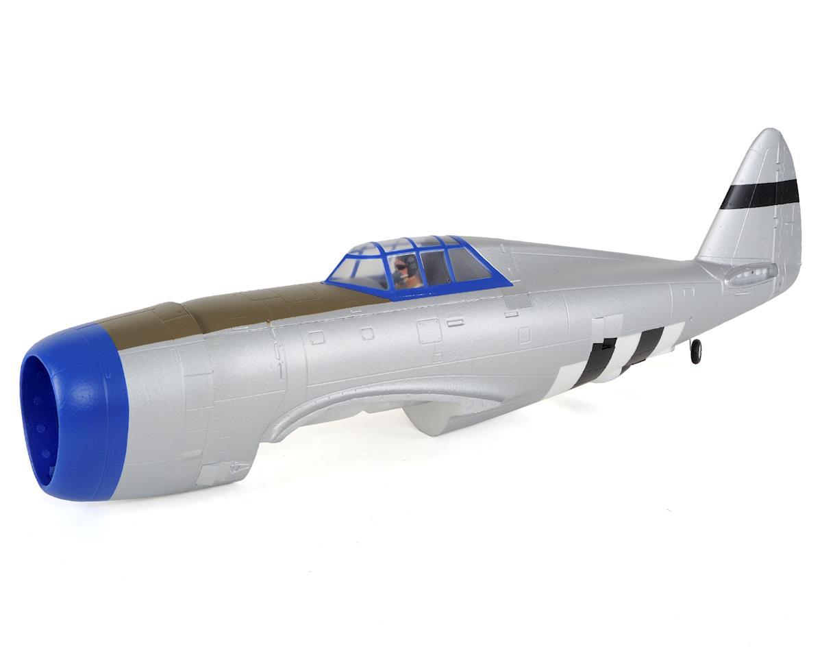 E-flite P-47D Razorback 1.2m Painted Fuselage w/Hatch