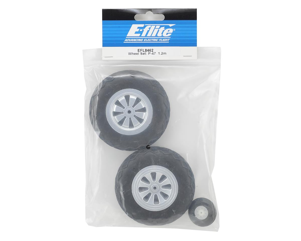 E-flite P-47D Razorback Wheel Set