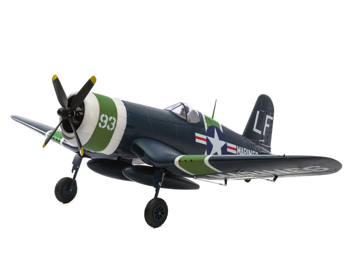 E-flite F4U-4 Corsair 1.2M Bind-N-Fly Basic Electric Airplane