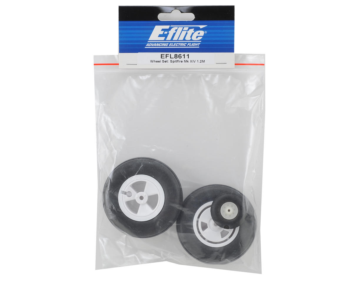 E-flite Spitfire Mk XIV Wheel Set