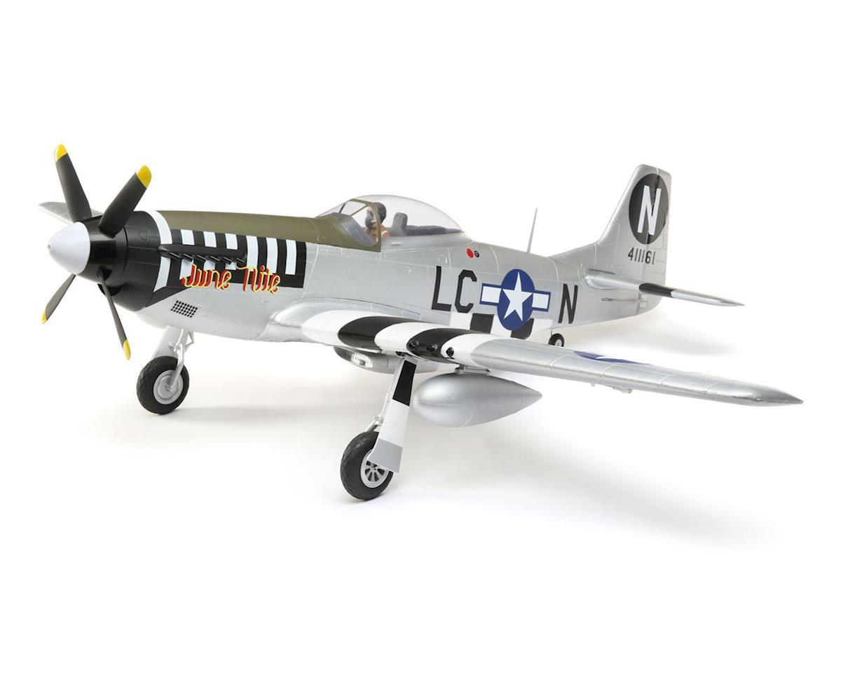 P-51D Mustang BNF Basic Electric Airplane (1200mm) by E-flite