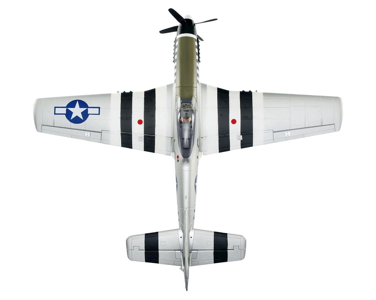 E-flite P-51D Mustang BNF Basic Electric Airplane (1200mm)