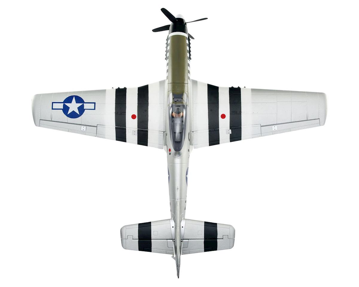E-flite P-51D Mustang PNP Electric Airplane (1200mm)