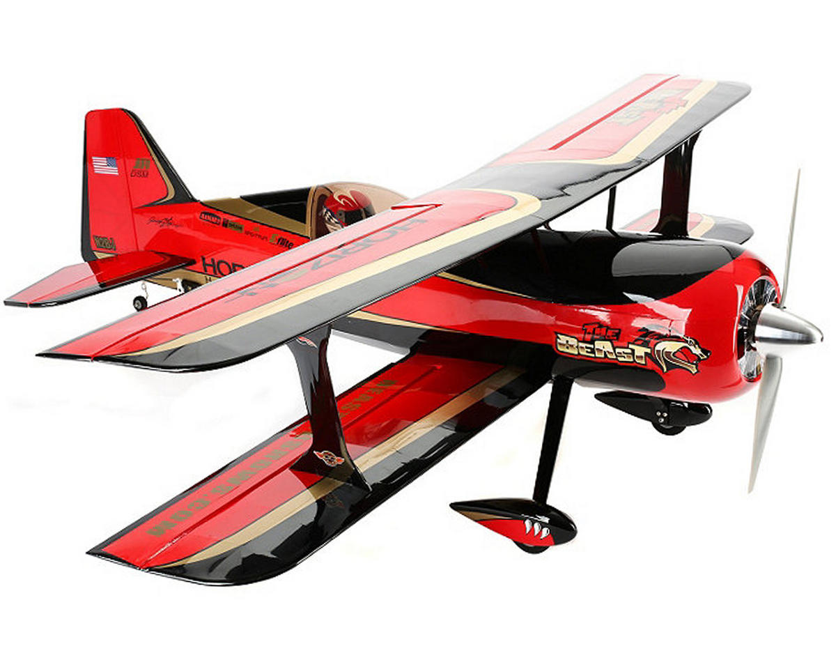 Beast 60e ARF Biplane