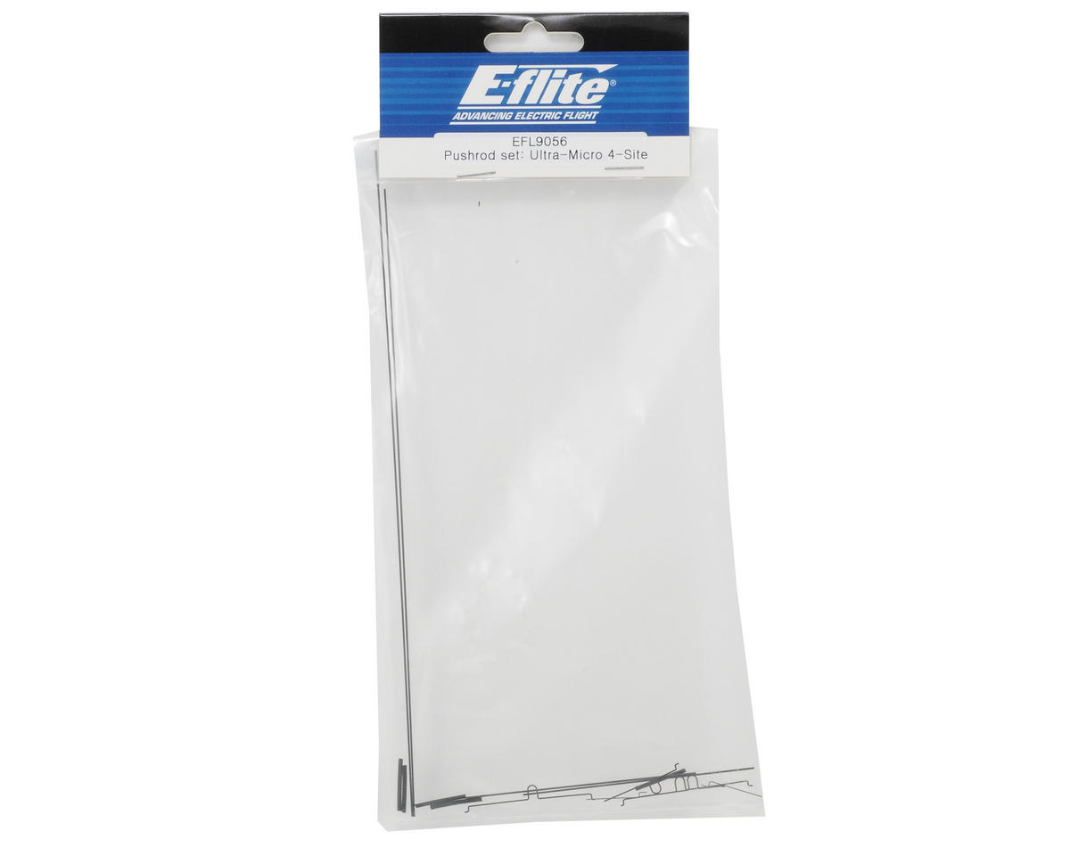 E-flite Pushrod Set (Ultra-Micro 4-Site)