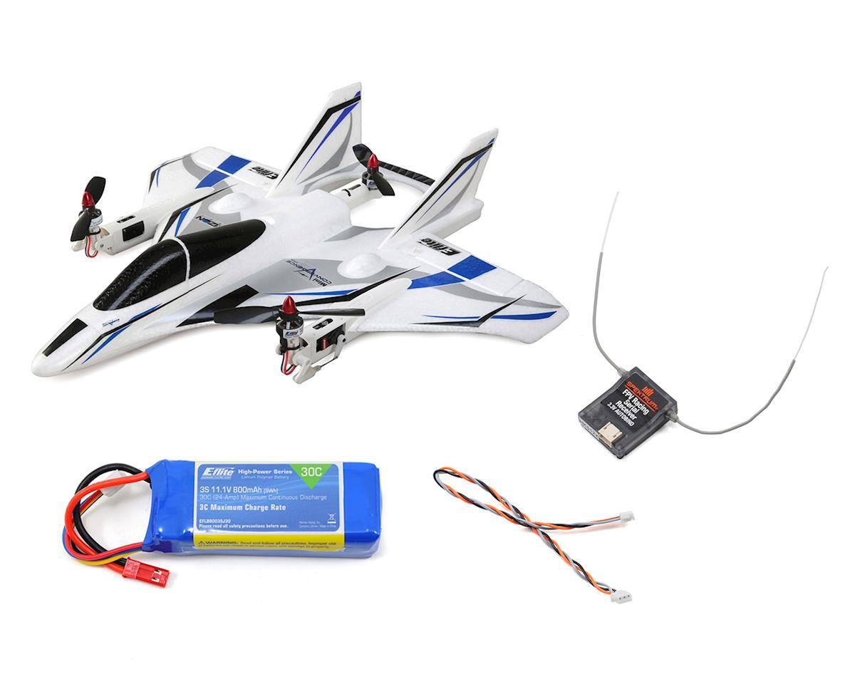 E-flite Mini Convergence VTOL Plug-N-Play Electric Airplane Combo (410mm)