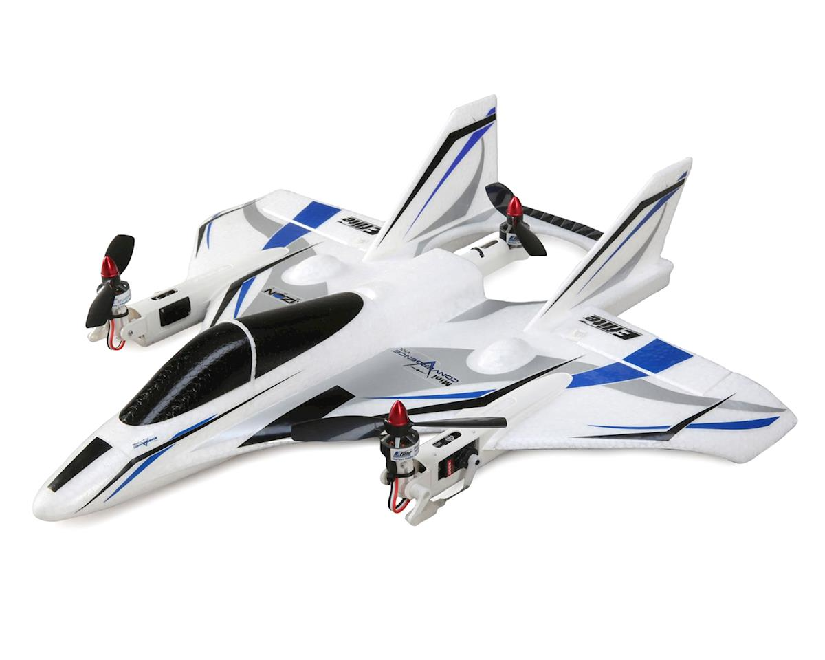 Mini Convergence VTOL Plug-N-Play Electric Airplane (410mm) by E-flite