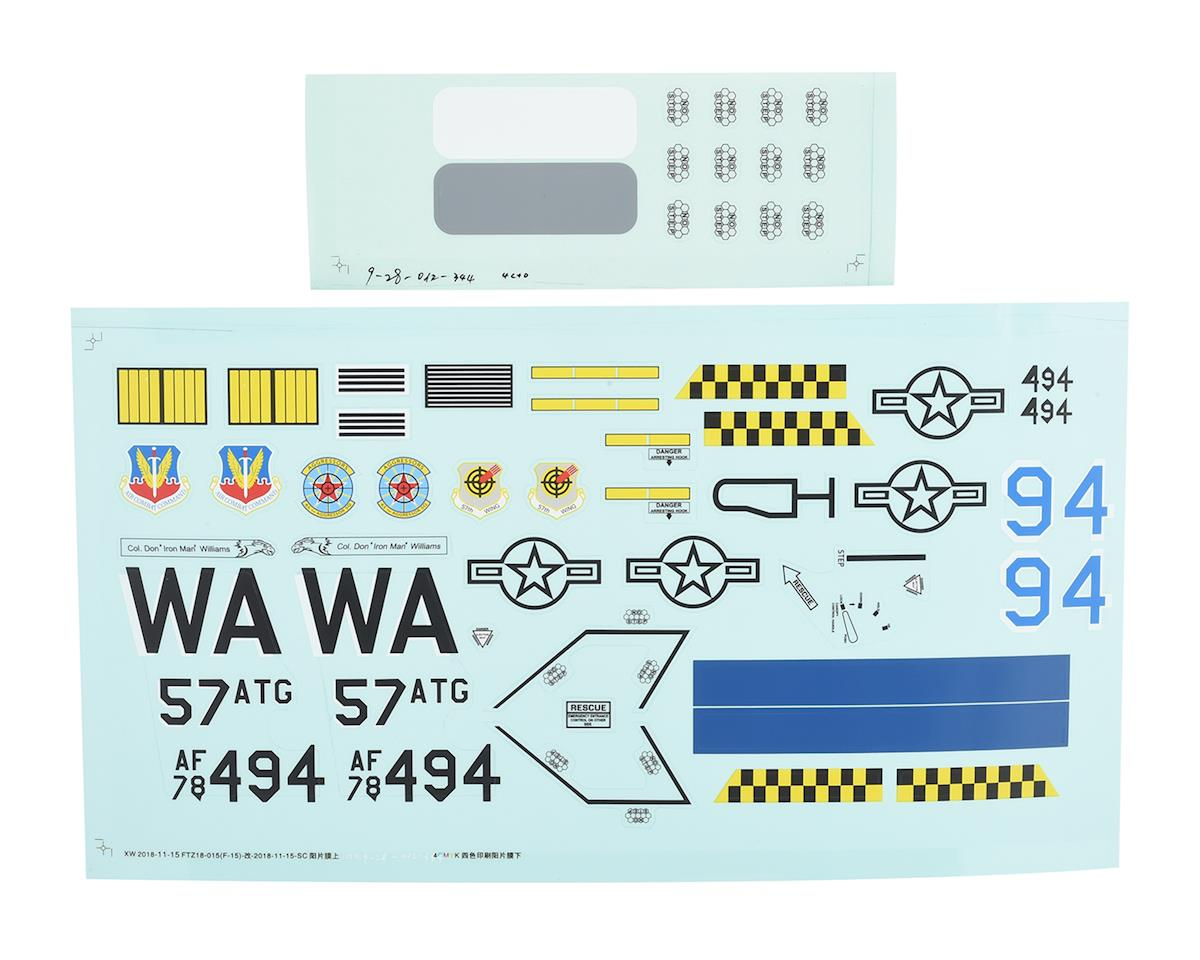 E-flite F-15 Eagle EDF Decal Set