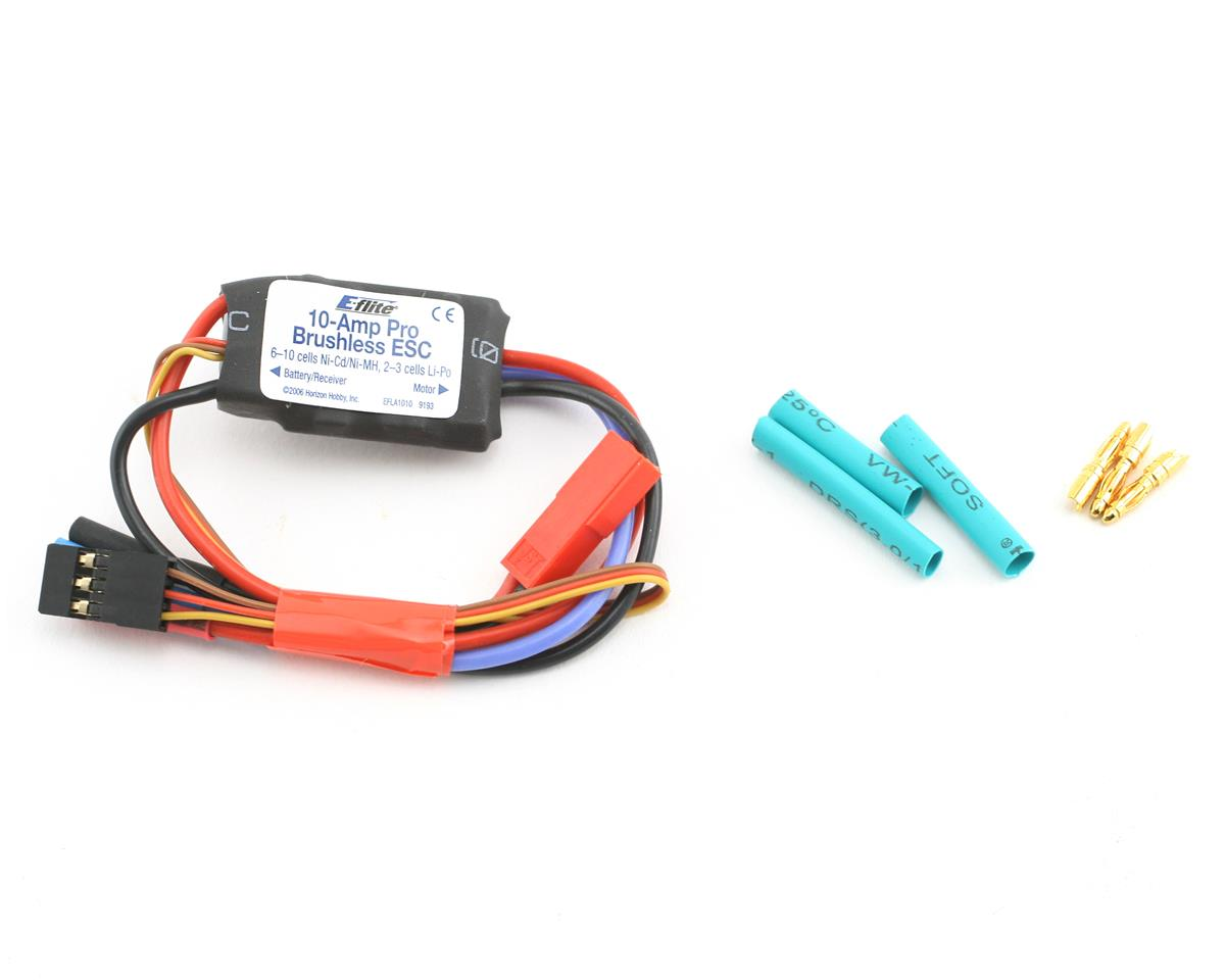 E-flite 10-Amp Pro Brushless ESC | relatedproducts