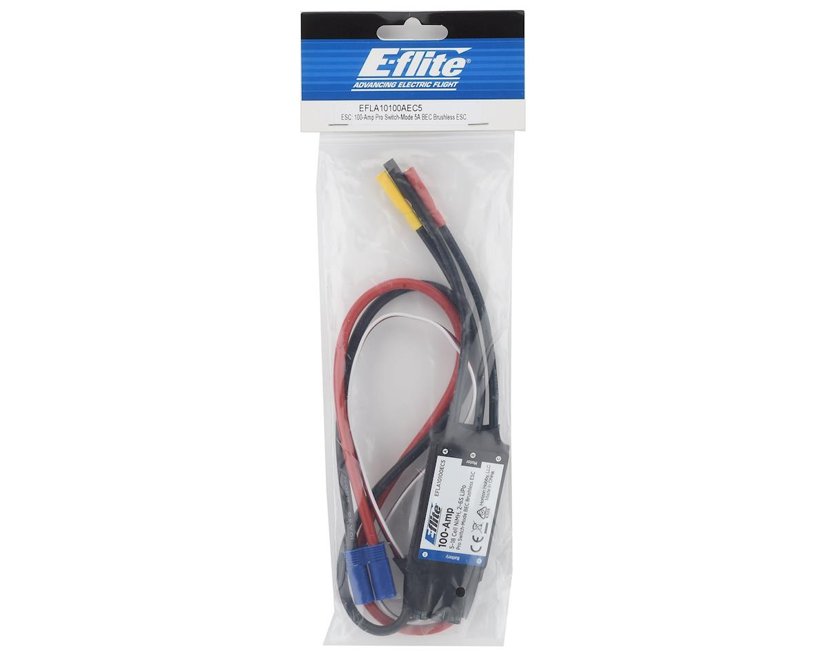 Image 2 for E-flite 100-Amp Pro Switch-Mode 5A BEC Brushless ESC