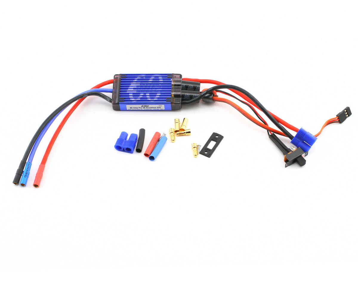 E-flite 60A Pro Switch-Mode BEC Brushless ESC