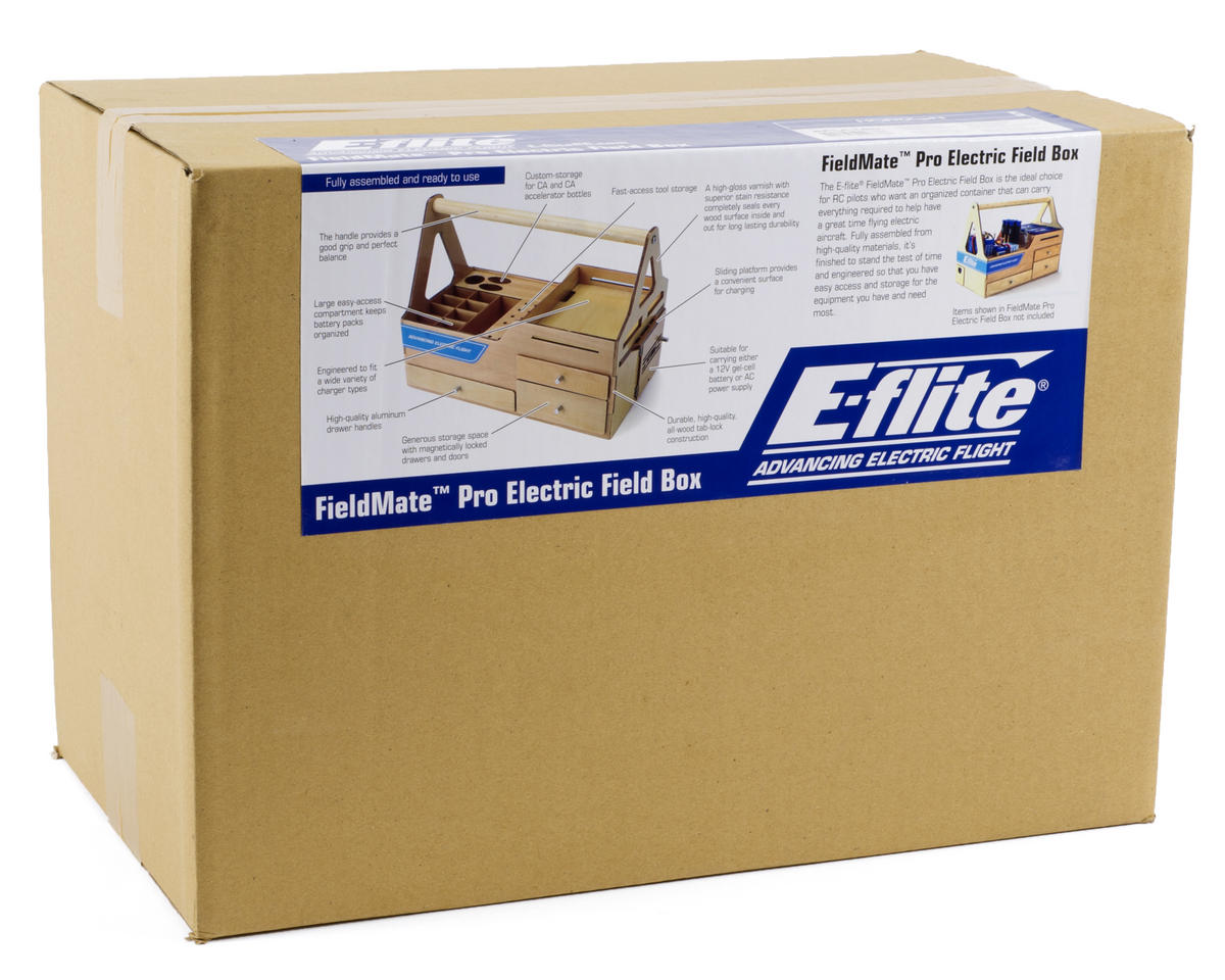 E-flite FieldMate Pro Electric Field Box