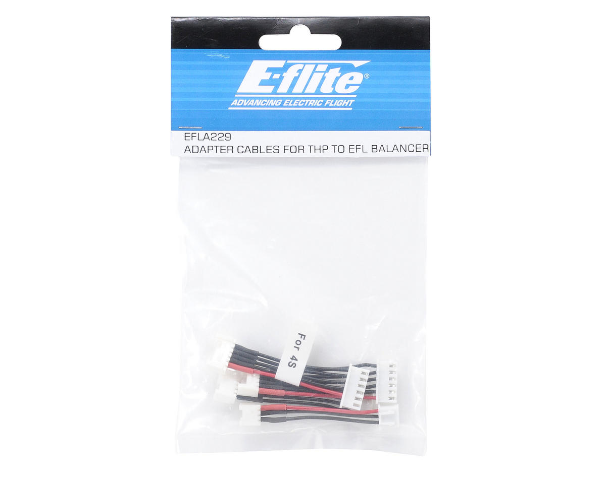 Adapter Cables for THP Battery to EFL Balancer by E-flite