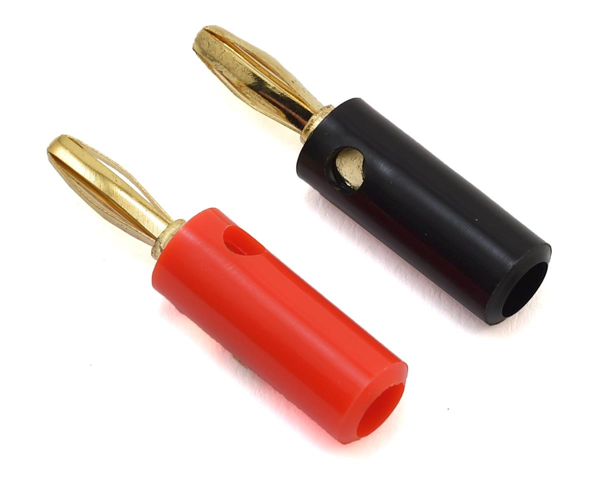 E-flite Gold Banana Bullet Plug Set w/Screws