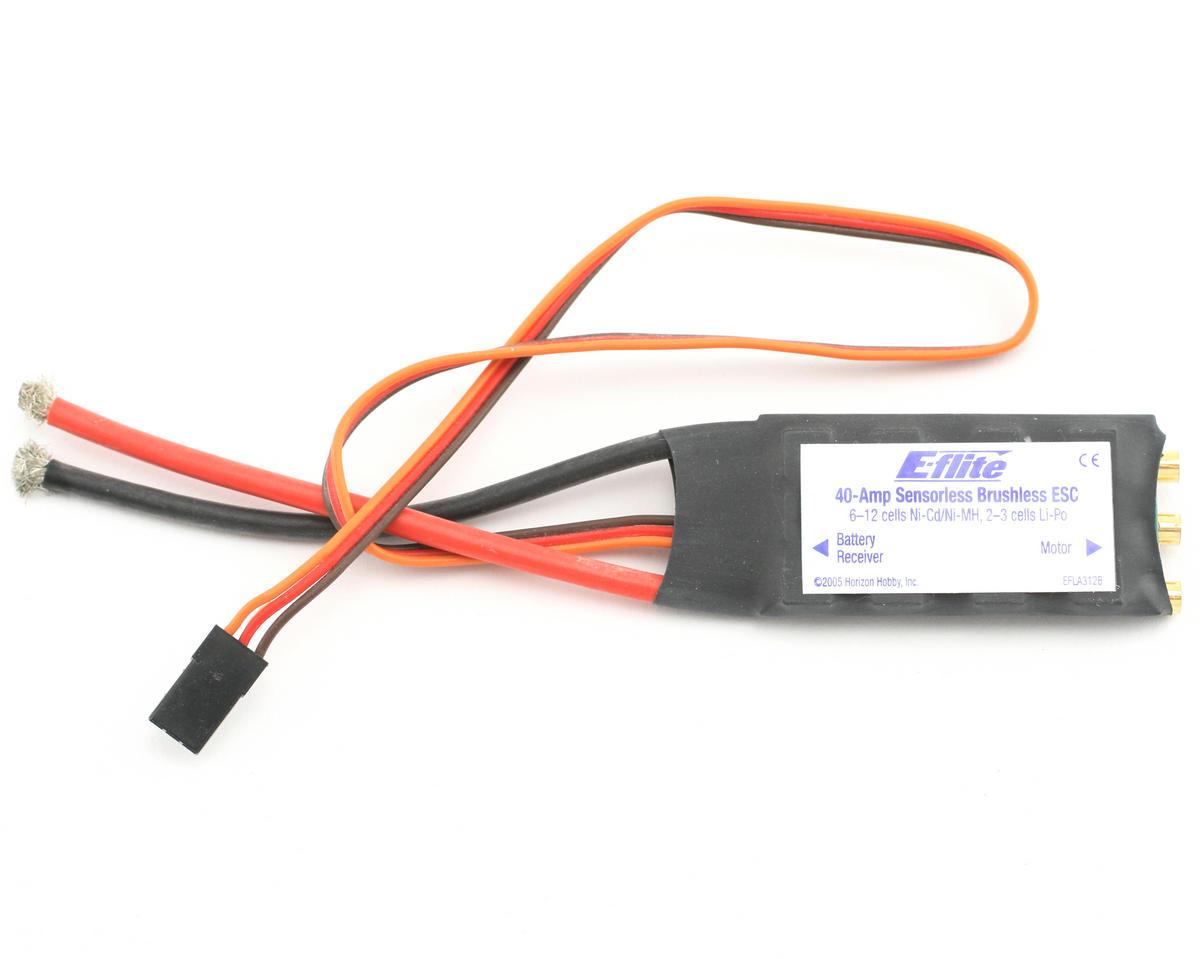 E-flite 40-Amp Brushless ESC (V2)