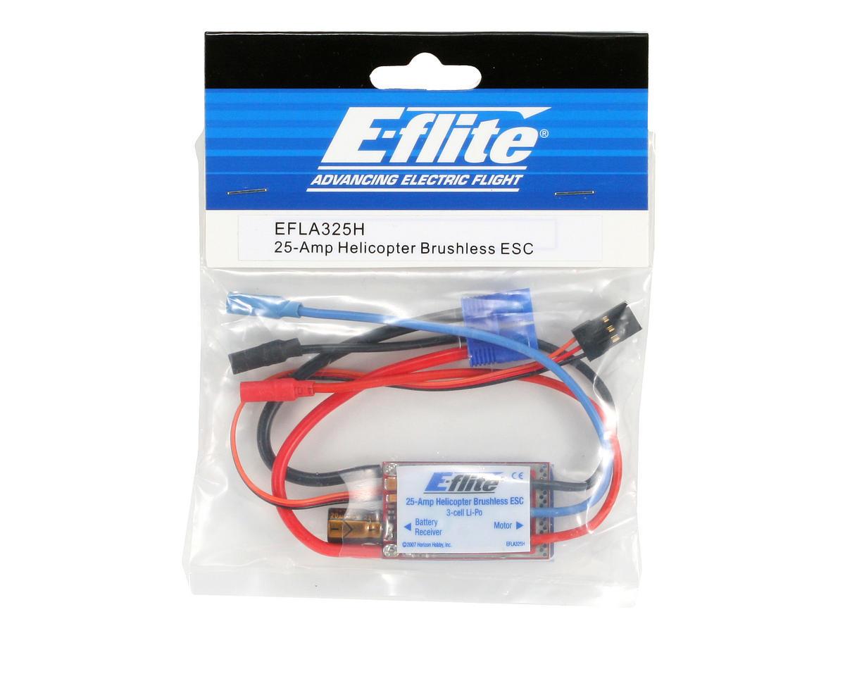 E-flite 25-Amp Helicopter Brushless ESC