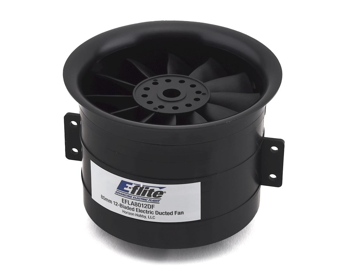 E-flite 80mm 12 Blade Ducted Fan Unit